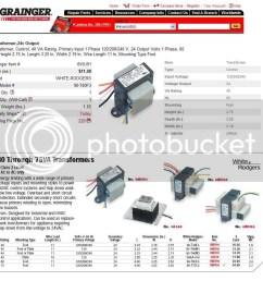 24 volt ac transformer wiring diagram [ 950 x 873 Pixel ]