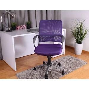 purple task chair swivel kijiji winnipeg boss office home transitional adjustable breatheable