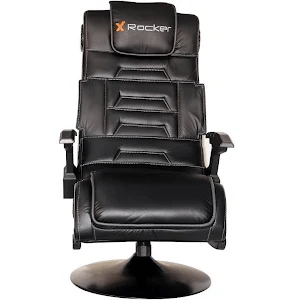 x rocker pro pedestal gaming chair foot covers for wood floors series wireless black google