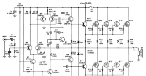 12v 400w Audio Amplifier Circuit Diagram  nerv