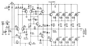 12v 400w Audio Amplifier Circuit Diagram  nerv