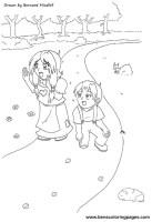 Malvorlage Hänsel Und Gretel