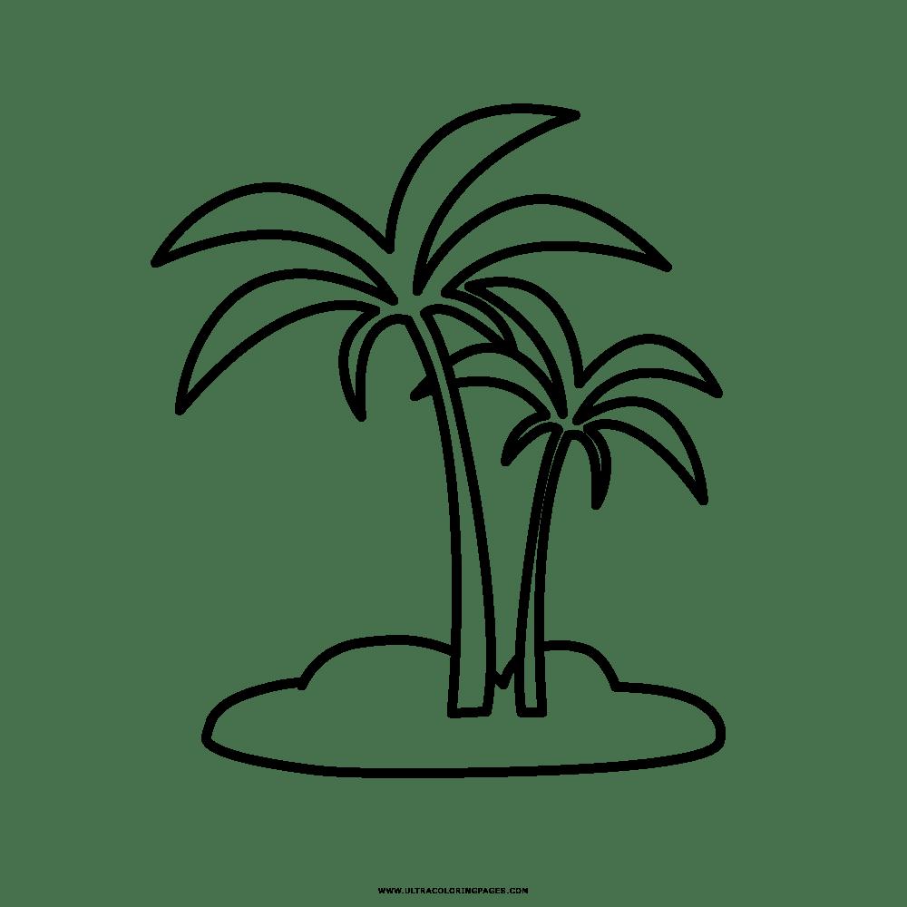 Palme Bilder Zum Ausmalen - Malvorlagen