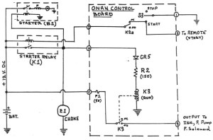 Onan 6500 Commercial Generator Wiring Diagram  Happy Living