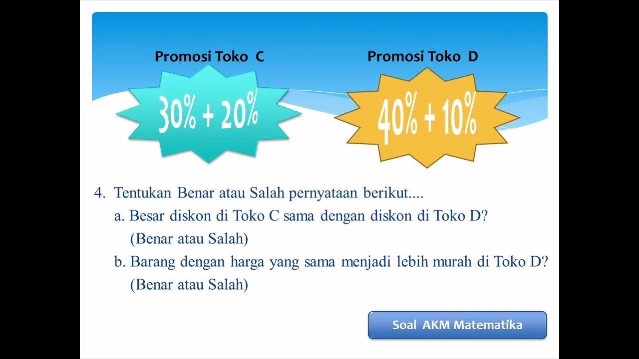 Latihan Soal Akm Ekonomi Sma Studi Indonesia Info Wisata Hits