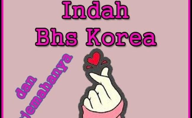 Kata Cinta Korea