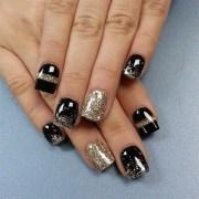 fabulous happy year nail art