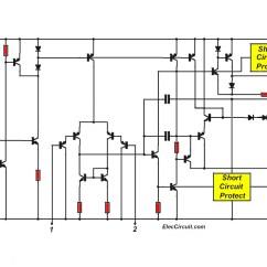 Subwoofer Wiring Diagram For 6 Subs Car Alternator Tda2050 Amplifier Circuit Images