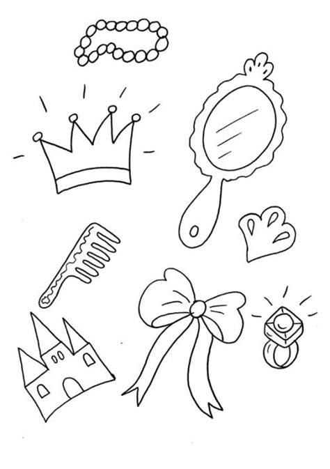 Gratis Malvorlagen Prinzessin Schloss - Kostenlose