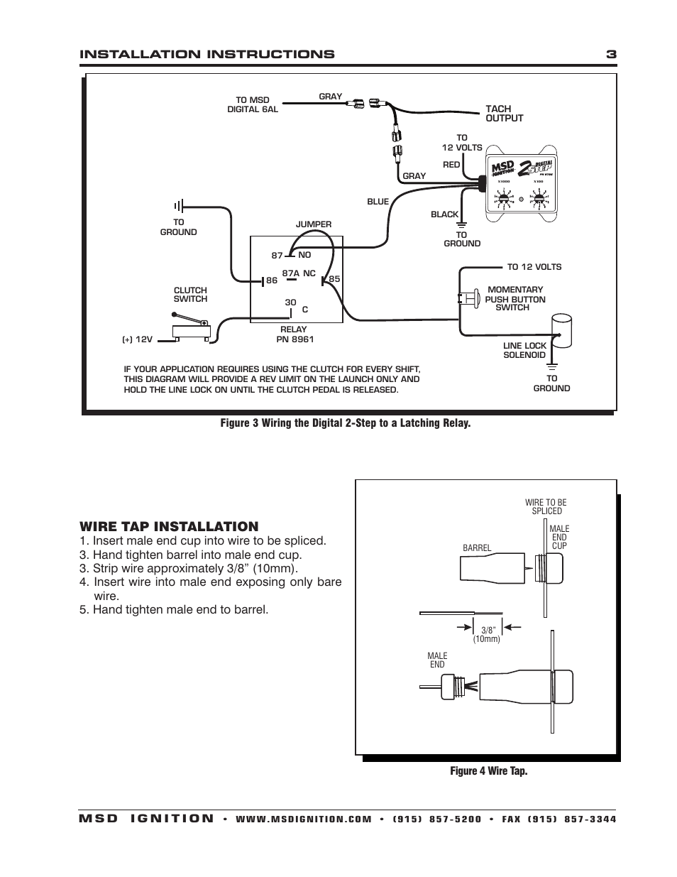 hight resolution of msd 6al wiring diagram ford