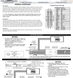 pac tr 7 wiring diagram [ 791 x 1024 Pixel ]