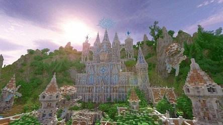 Minecraft Castle Palette Minecraft Castle Map Wallpapers