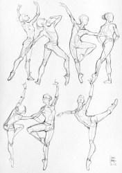 Anime Anatomy Sketches