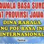 Artikel Contoh Wawaran Basa Sunda Giveaway Party