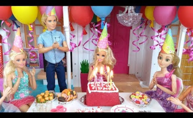 1 Cara Membuat Kue Ulang Tahun Frozen Barbie Doll How To Make Birthday Cake Youtube Tortas Cute766
