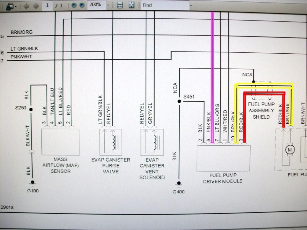 medium resolution of 2002 ford mustang 4 6l fuel pump wiring diagram wiring diagram completed
