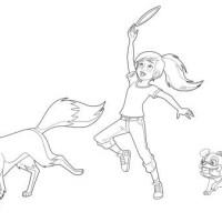 Ausmalbilder Lassie