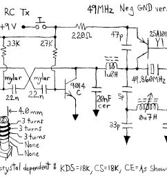 remote control car circuit diagram [ 2088 x 1300 Pixel ]