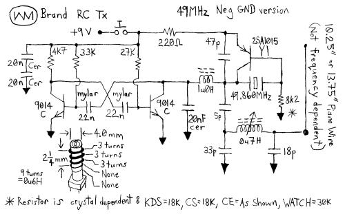 small resolution of remote control car circuit diagram