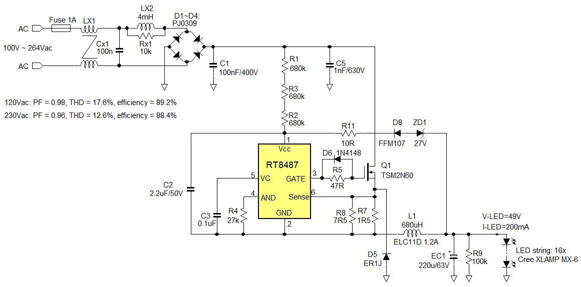 5 watt led driver circuit diagram century 5hp electric motor wiring 12v 60w - images