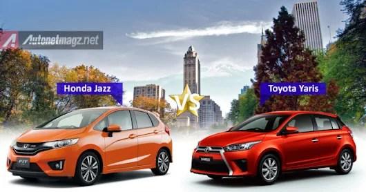 toyota yaris trd vs honda jazz rs all new corolla altis komparasi perbandingan sportivo