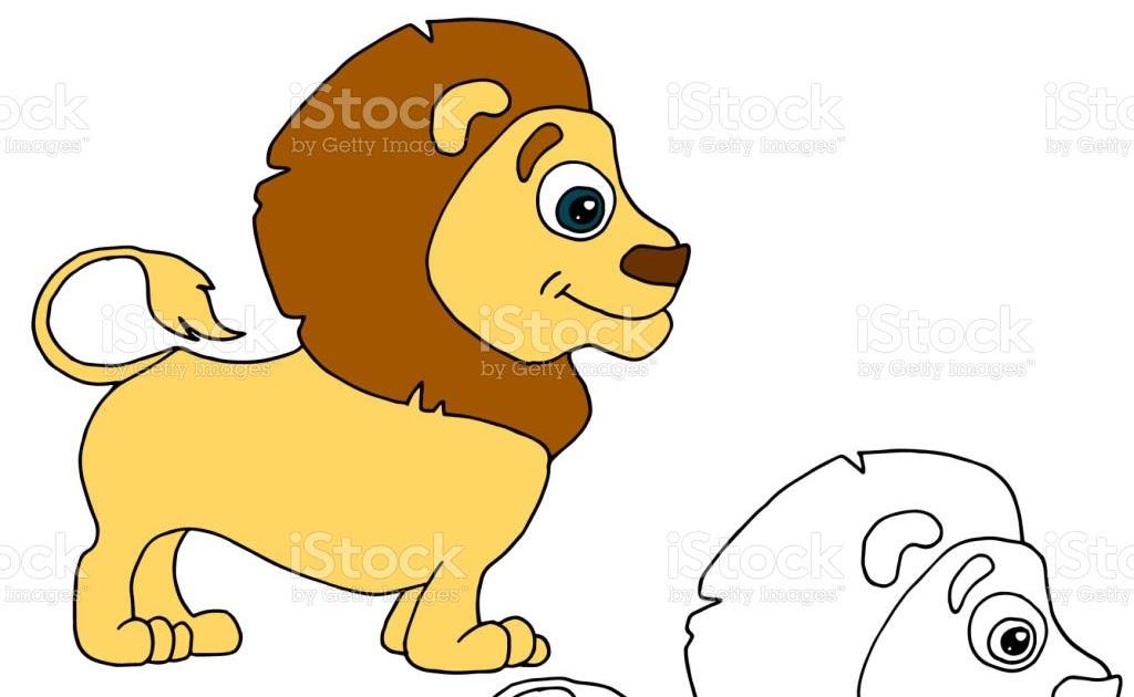 Malvorlage Löwe Einfach
