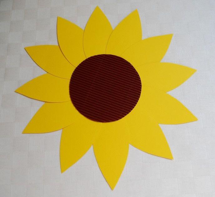 Sonnenblume Vorlage