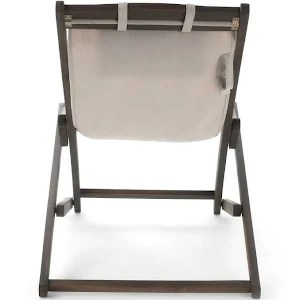 canvas sling chair hanging and stand nikki outdoor wood set of 2 beige google