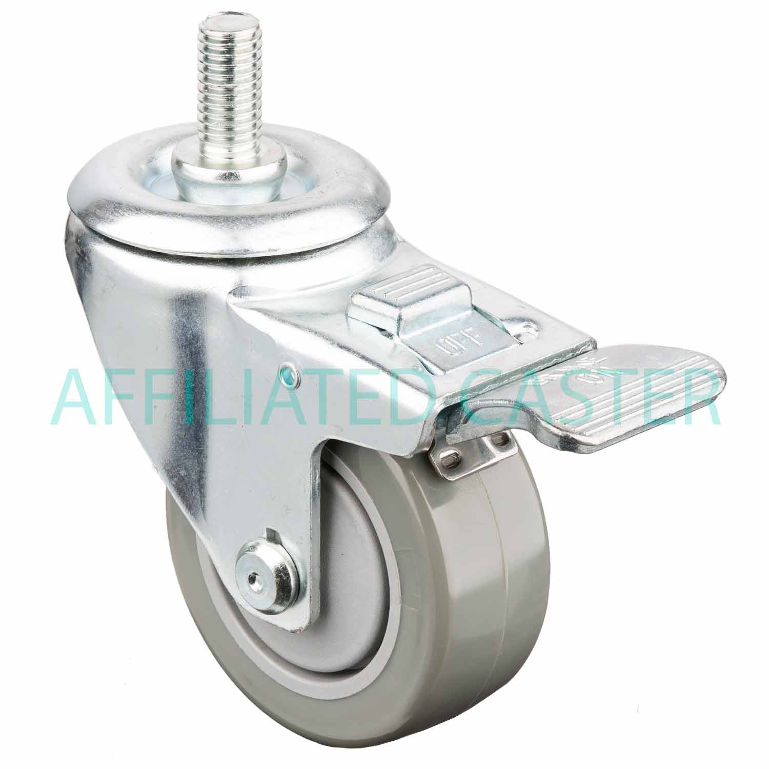 chair casters threaded stem hanging spring 6 unique caster installation insured by ross