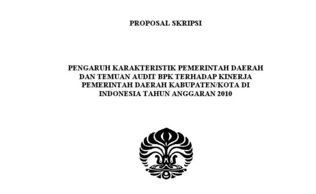 Contoh Judul Skripsi Akuntansi Audit Terbaru Contoh Ll Resep Kuini
