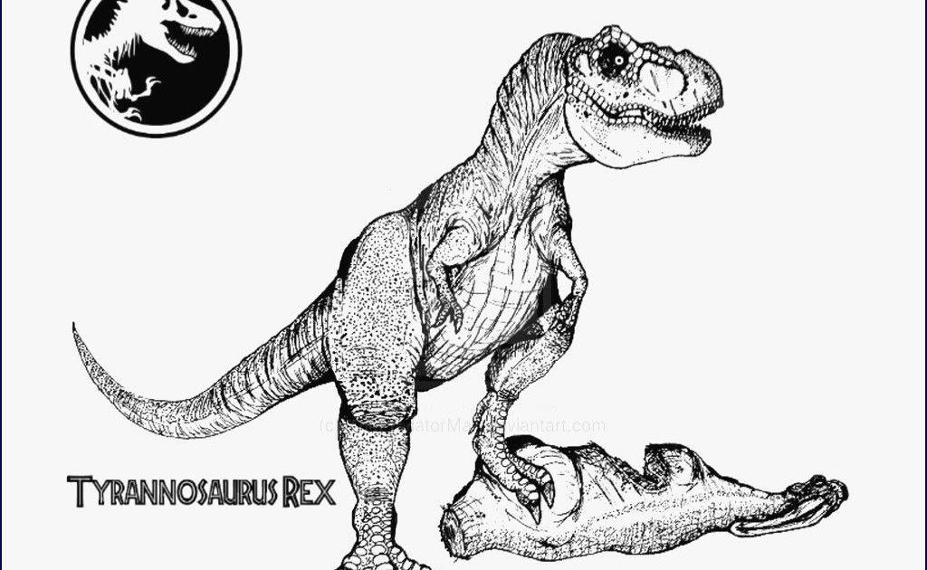 Malvorlage Dinosaurier T Rex Ausmalbild - T Rex 2