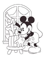 Disney Weihnachten Zum Ausmalen   Weihnachtsmotiv