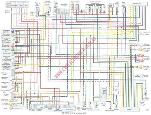 small resolution of 1990 kawasaki zxr 750 wiring diagram wiring diagram