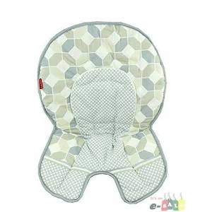 fisher price spacesaver high chair cover zanui desk replacement bck62 rainforest pad