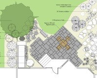Landscaping Plans Dwg | small front yard landscape ideas