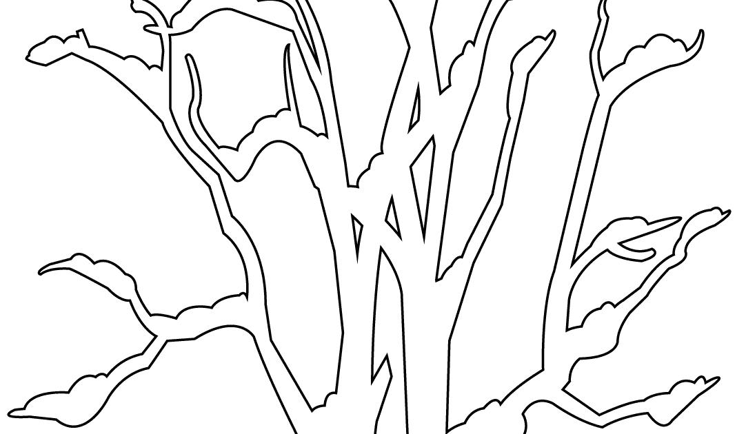 Kahler Baum Malvorlage