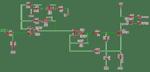 Schematics of delabs: 01V to 420 mA Converter