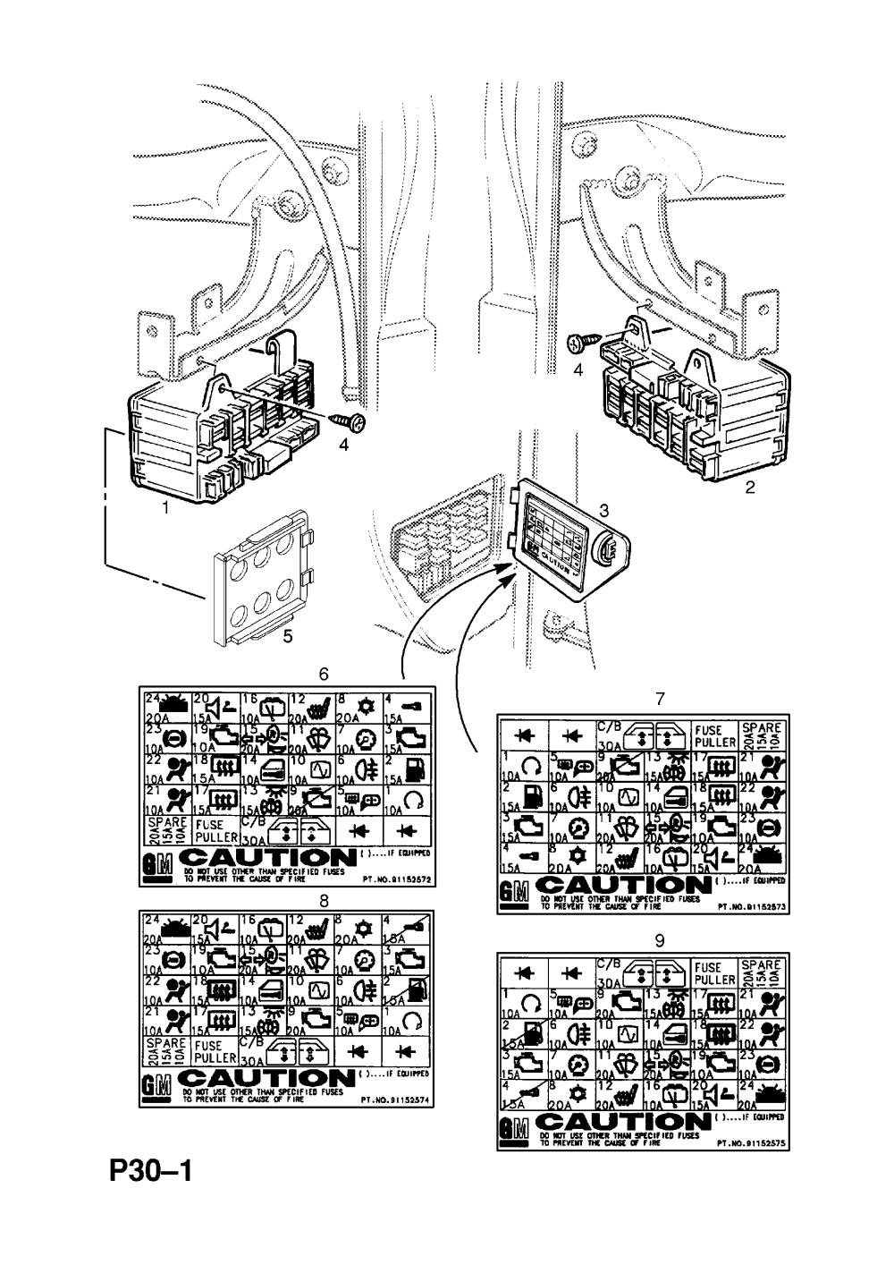 medium resolution of opel frontera wiring diagram