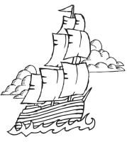 Malvorlagen Gratis Piratenschiff   Kostenlose Malvorlagen ...