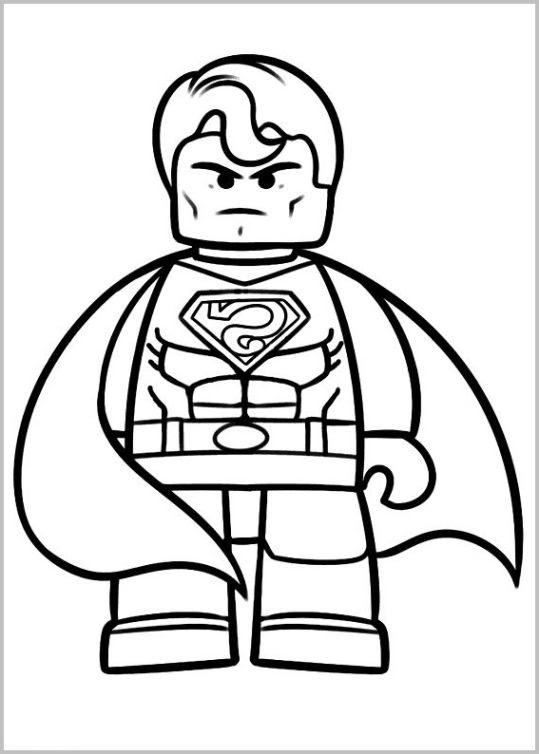 Ausmalbilder kostenlos superhelden - Ausmalbilder