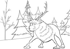 Ausmalbild Eiskonigin Kostenlos   Cartoon Bild