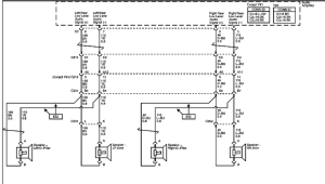 schematics and diagrams: 2007 Chevrolet Tahoe Z71: Radio Amplifier and Sound System Speakers