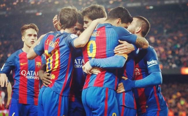 Fc Barcelona Vs Atletico Madrid Copa Del Rey Semi Final