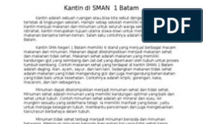Contoh Teks Laporan Hasil Observasi Tentang Lingkungan Sekolah Bahasa Jawa Berbagai Teks Penting Cute766