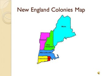 Map Of New England Colonies Maping Resources