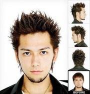 asian mullet hair styles