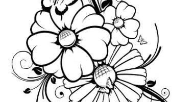 34 Malvorlagen Blumen Kostenlos   Besten Bilder von ...