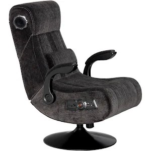 x rocker video game chair what is a chairman pedestal 2 1 with wireless bluetooth audio charcoal