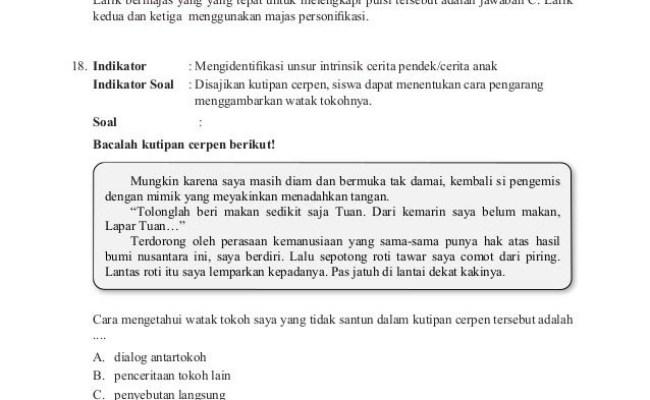 Contoh Contoh Soal Materi Bahasa Indonesia Tentang Parafrasa Cute766