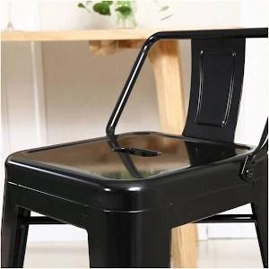 low back lawn chair 9 baby swing juniors belleze indoor outdoor counter height stools black set